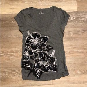 XS sequin Express Top